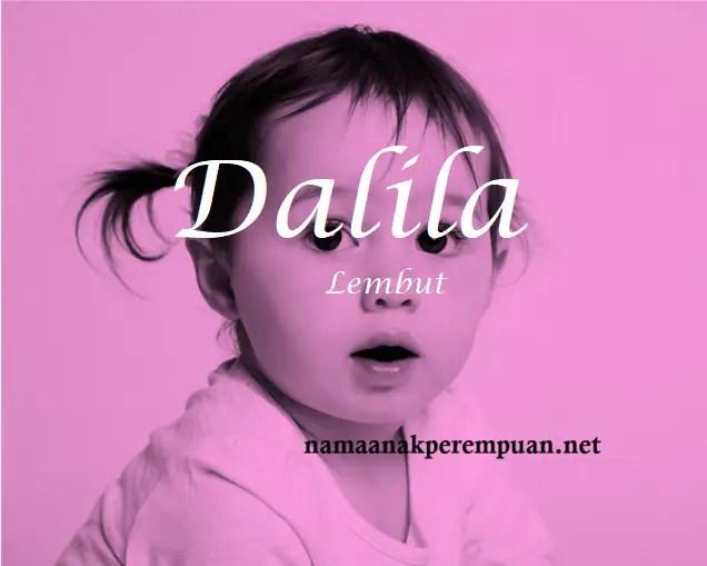 arti nama Dalila