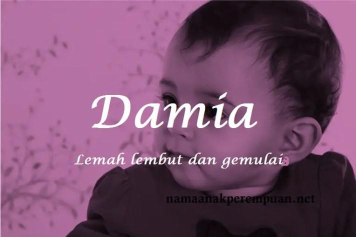 arti nama Damia