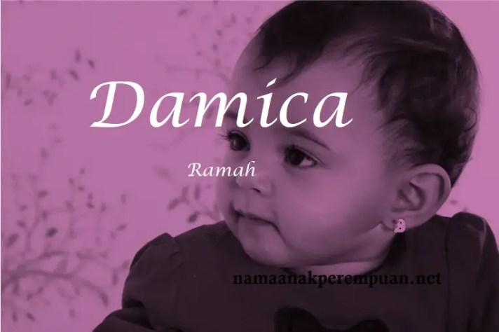 arti nama Damica