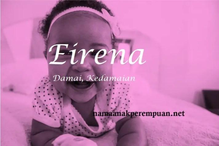 arti nama Eirena