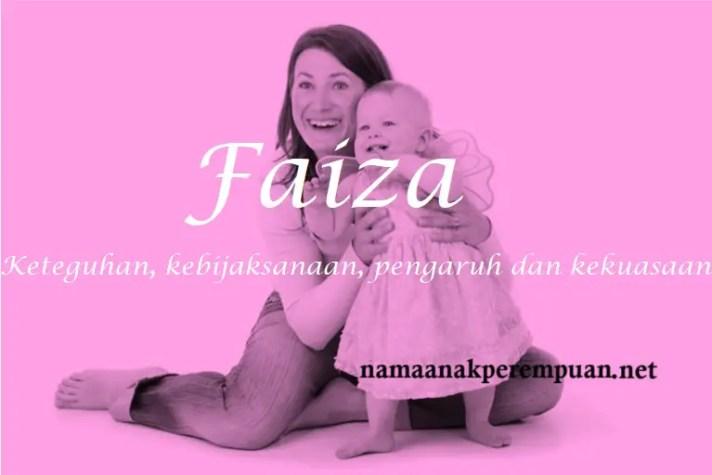 arti nama Faiza
