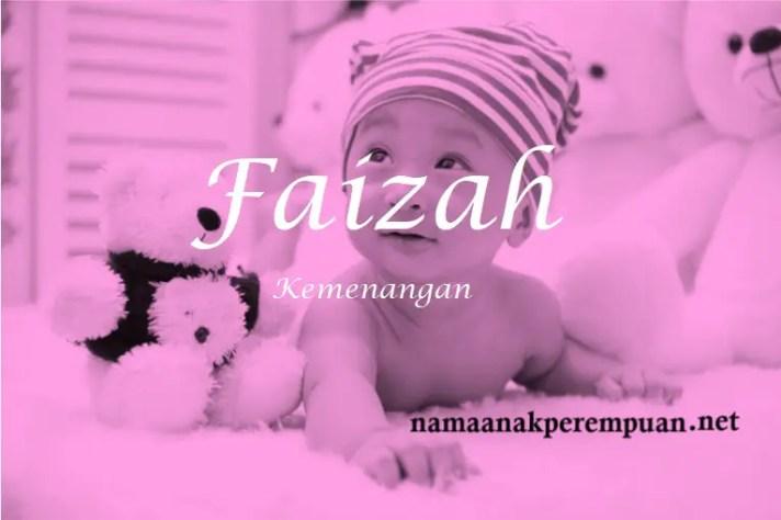 arti nama Faizah