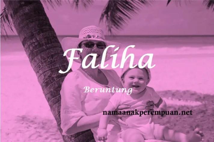 arti nama Faliha