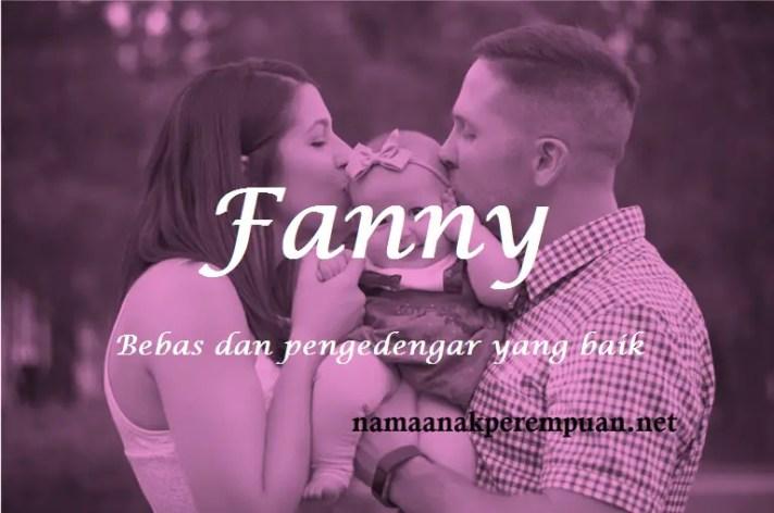 arti nama Fanny