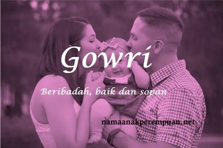arti nama Gowri