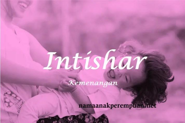 arti nama Intishar