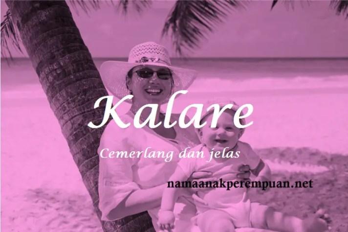 arti nama Kalare