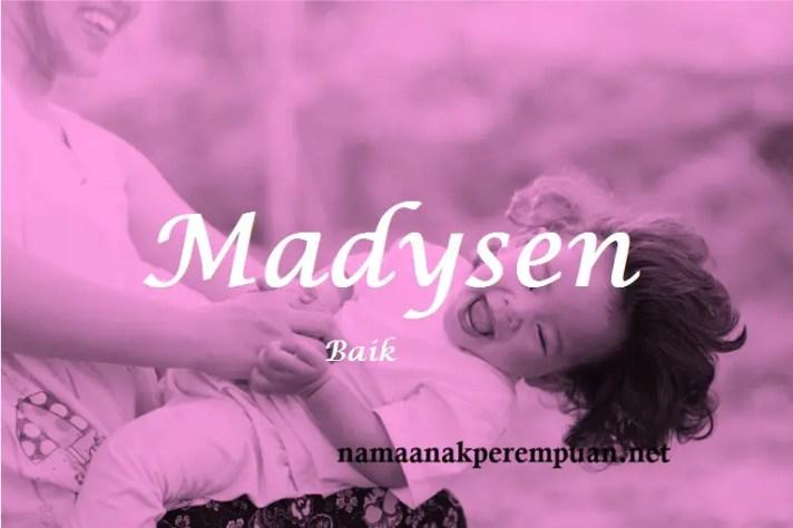 arti nama Madysen
