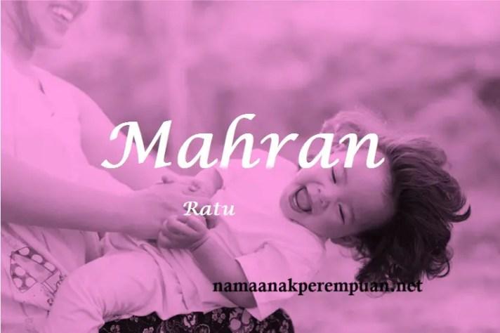 arti nama Mahran