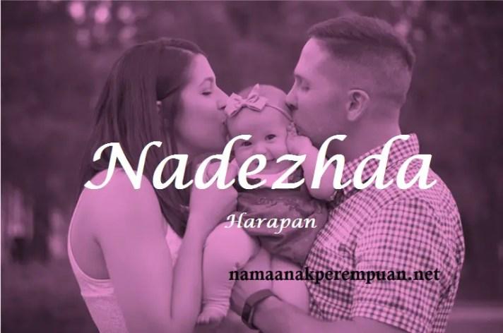 arti nama Nadezhda