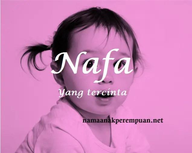 arti nama Nafa