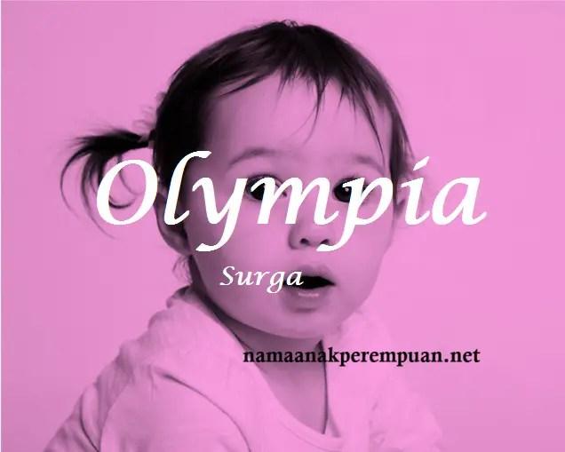 arti nama Olympia