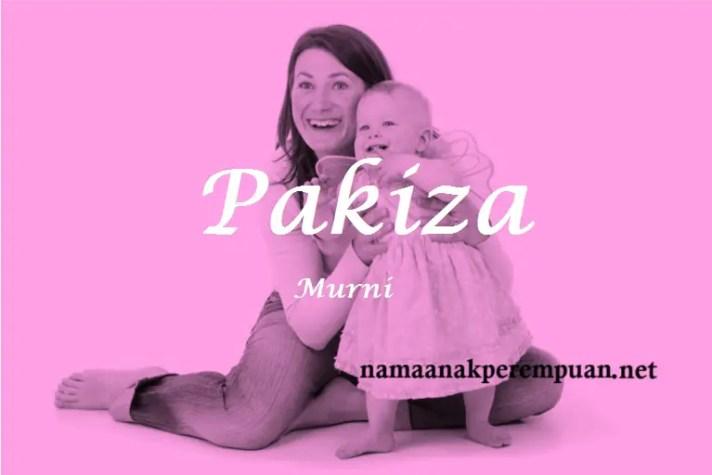 arti nama Pakiza