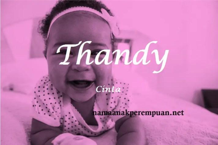 arti nama Thandy