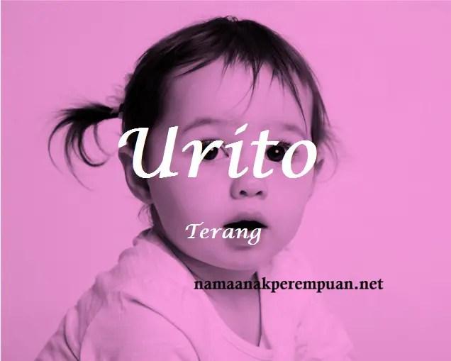 arti nama Urito