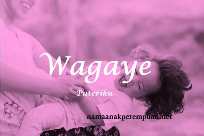 arti nama Wagaye