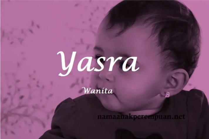 arti nama Yasra