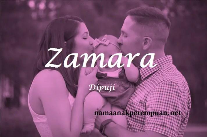 arti nama Zamara