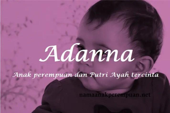 arti nama Adanna