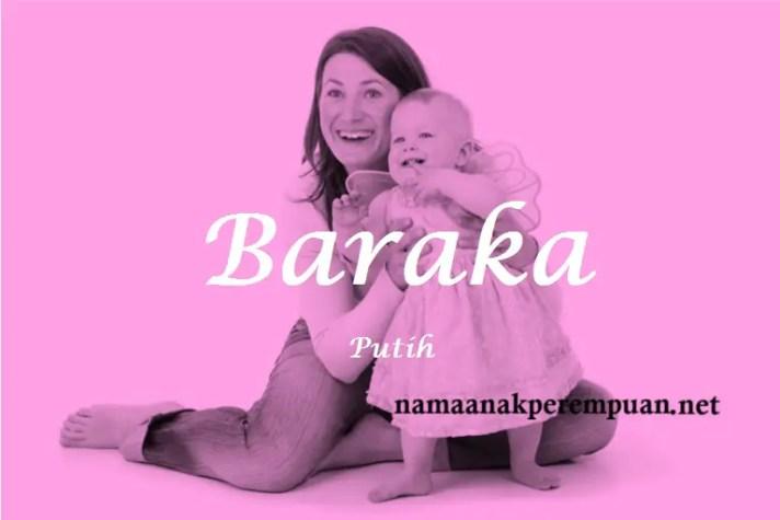 arti nama Baraka