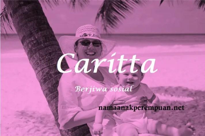 arti nama Caritta