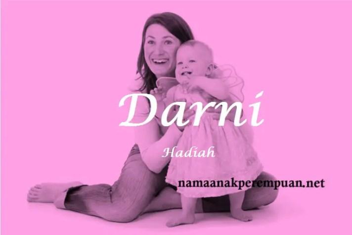 arti nama Darni