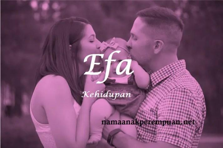 arti nama Efa