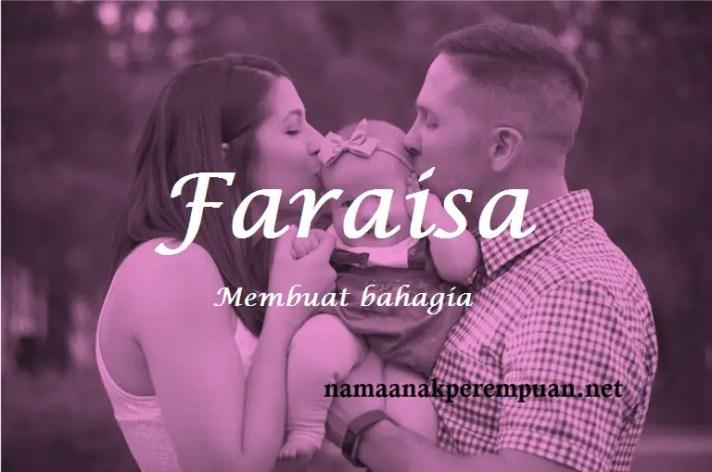 arti nama Faraisa