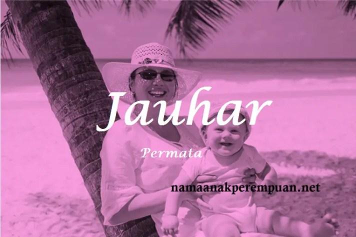 arti nama Jauhar