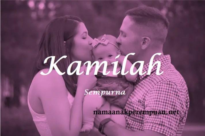 arti nama Kamilah