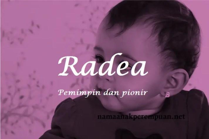 arti nama Radea