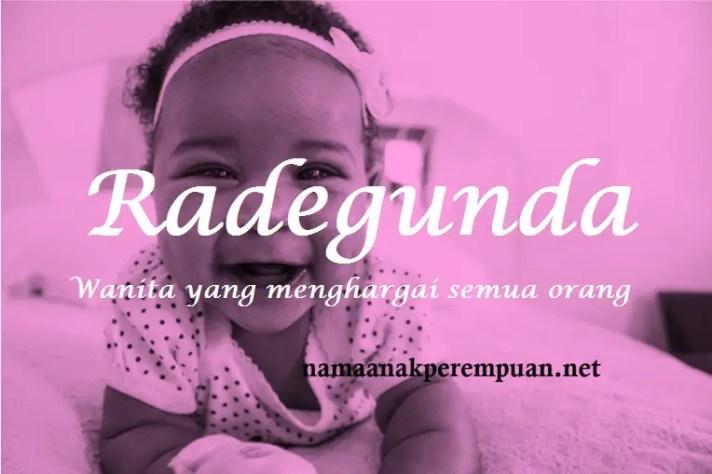 arti nama Radegunda