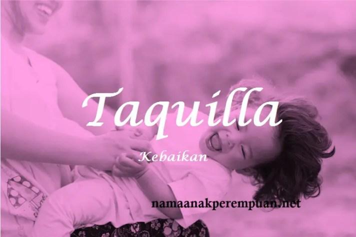 arti nama Taquilla