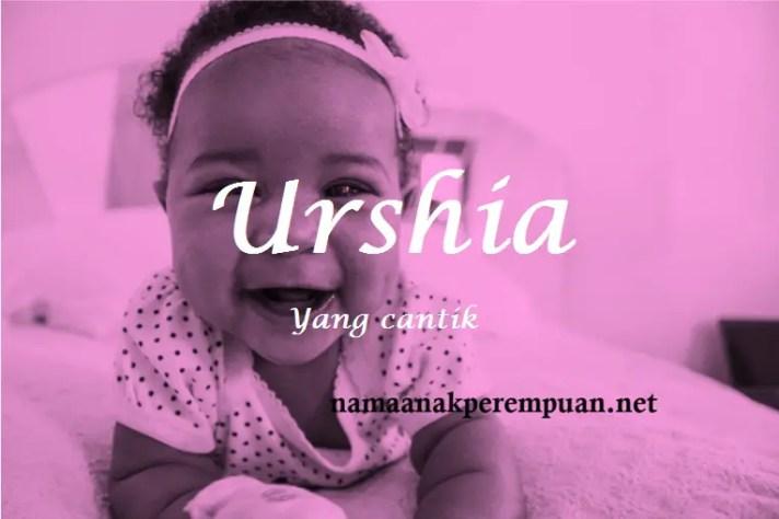 arti nama Urshia