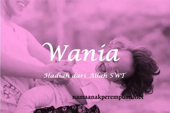arti nama Wania