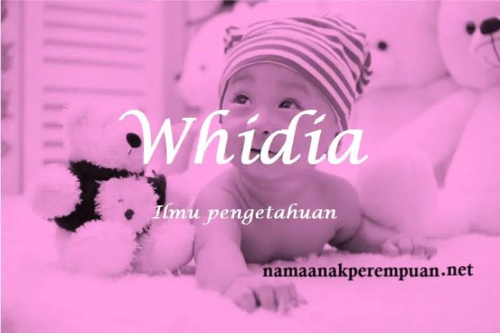 arti nama Whidia