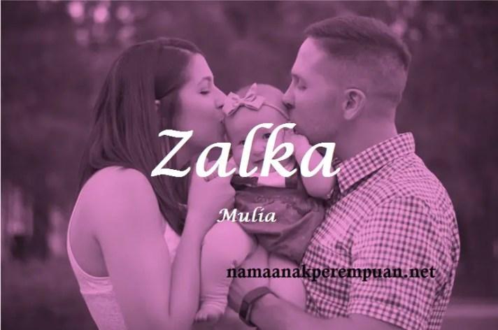 arti nama Zalka