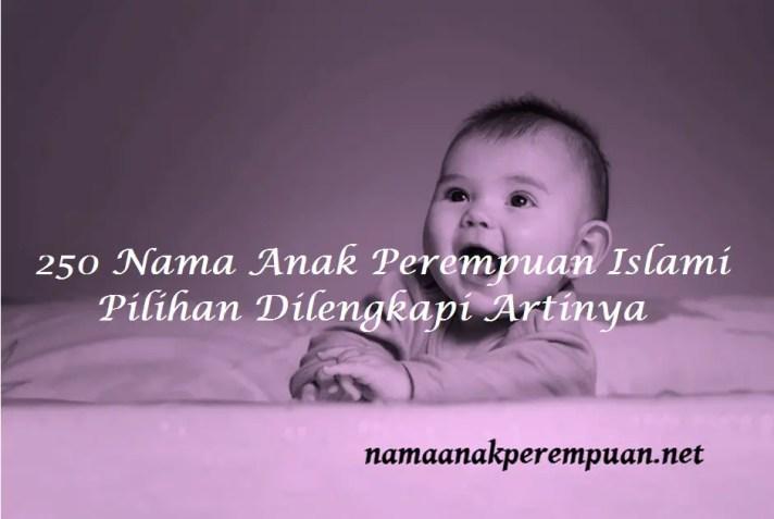 Nama anak perempuan islami