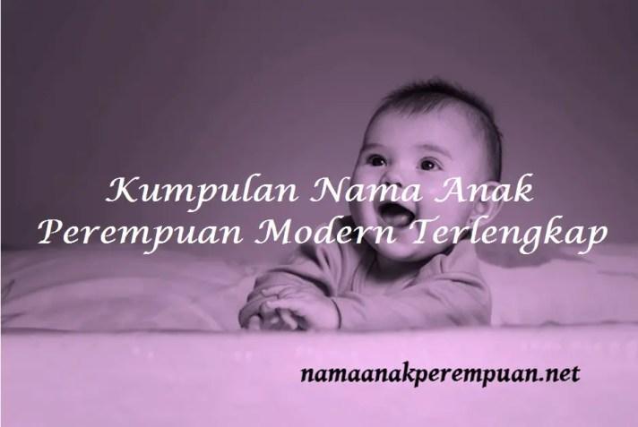 Kumpulan Nama Anak Perempuan Modern