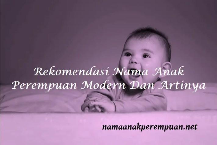 Nama Anak Perempuan Modern Dan Artinya