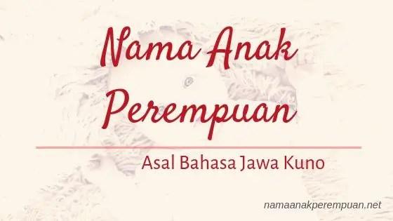 Nama Anak Perempuan Jawa Kuno