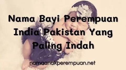 Nama Bayi Perempuan India Pakistan