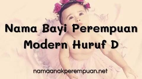 Nama Bayi Perempuan Modern Huruf D