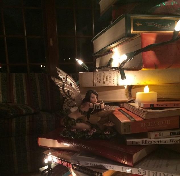 book tree fairy