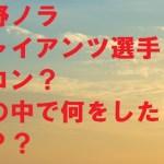 平野ノラが合コンしたジャイアンツ選手は誰?とんねるずに不倫暴露?
