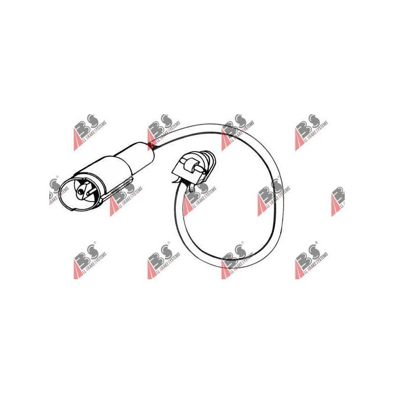 39526 BMW предупредителен контактен сензор, износване на