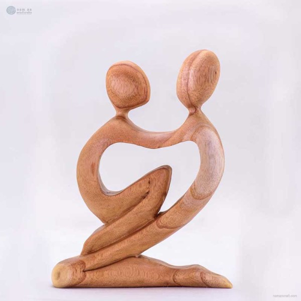 NA-father-and-child-wooden-handmade-abstract-sculpture-gift-art-home-decor-figurine-family-collection