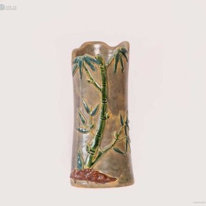 NA-irregular-vase-with-bamboo-pattern