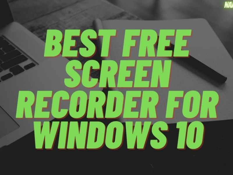 free screen recorder for windows 10
