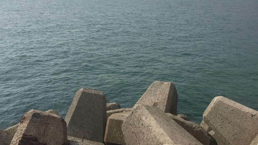釜口漁港の釣り場紹介(淡路島北淡)数少ない淡路島東岸のエギング漁港
